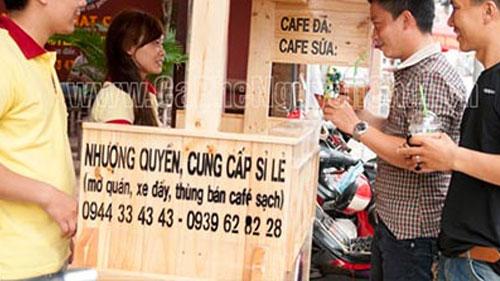Kinh doanh cafe rang xay nhượng quyền chất lượng cao