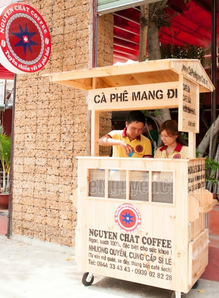 Xe pha chế cafe lưu động
