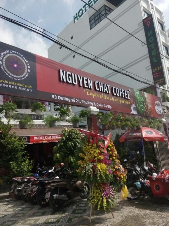 Mở quán cafe nguyên chất