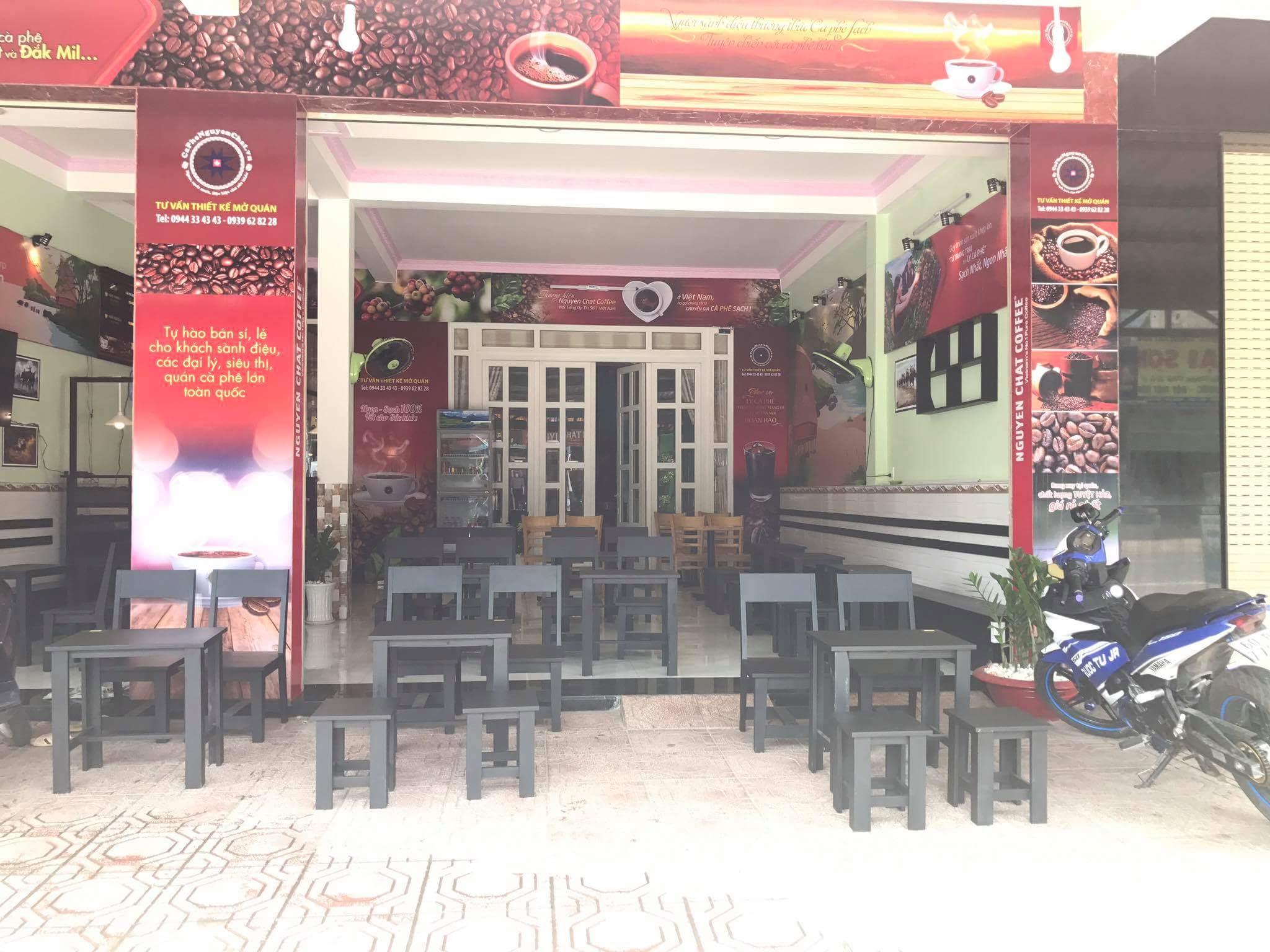 Mở quán cafe sạch