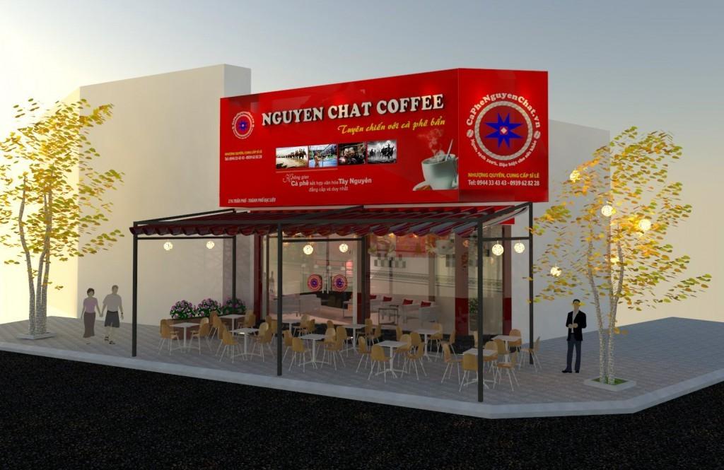 Kinh doanh cafe nhượng quyền