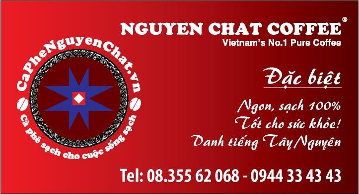 nhượng quyền cà phê sạch cùng Nguyen Chat coffee