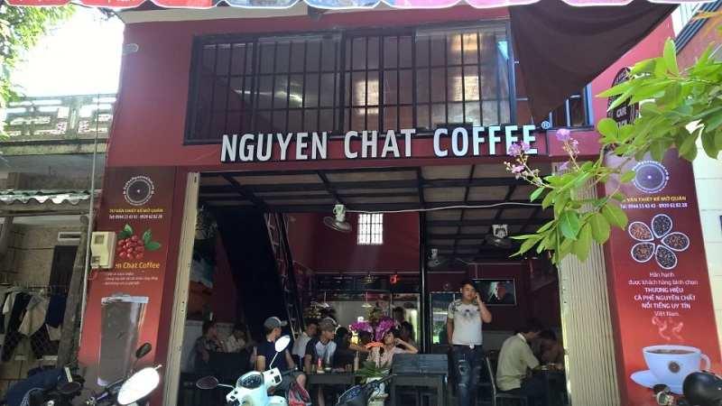 Nguyen Chat coffee là chuỗi quán cafe sạch được nhiều người tin tưởng.