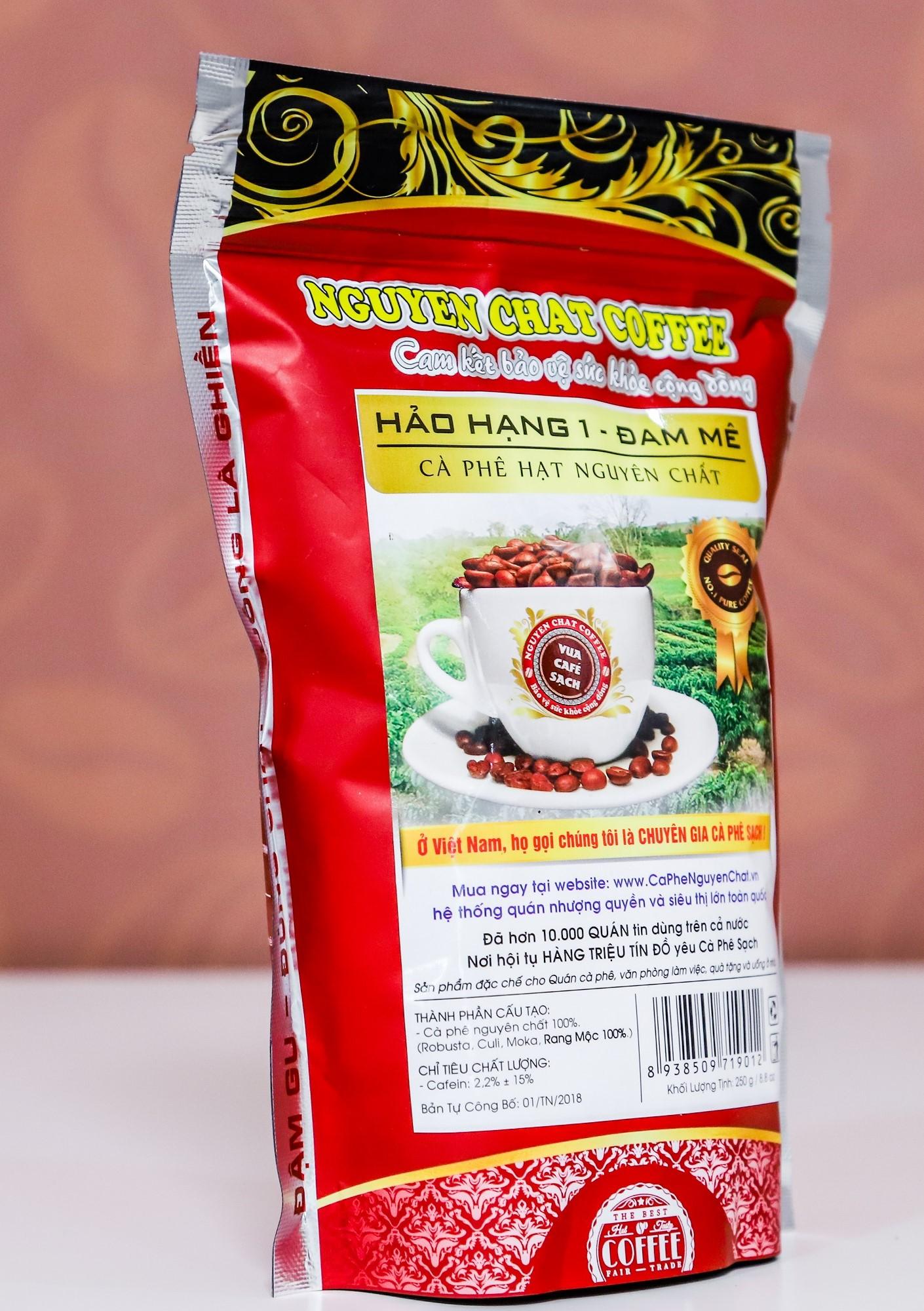 Cà phê nguyên chất Hạt Hảo Hạng 1 (Đam mê)