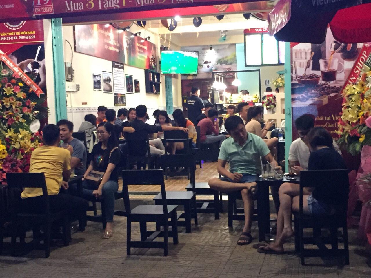 Mặt bằng mở quán cafe bình dân