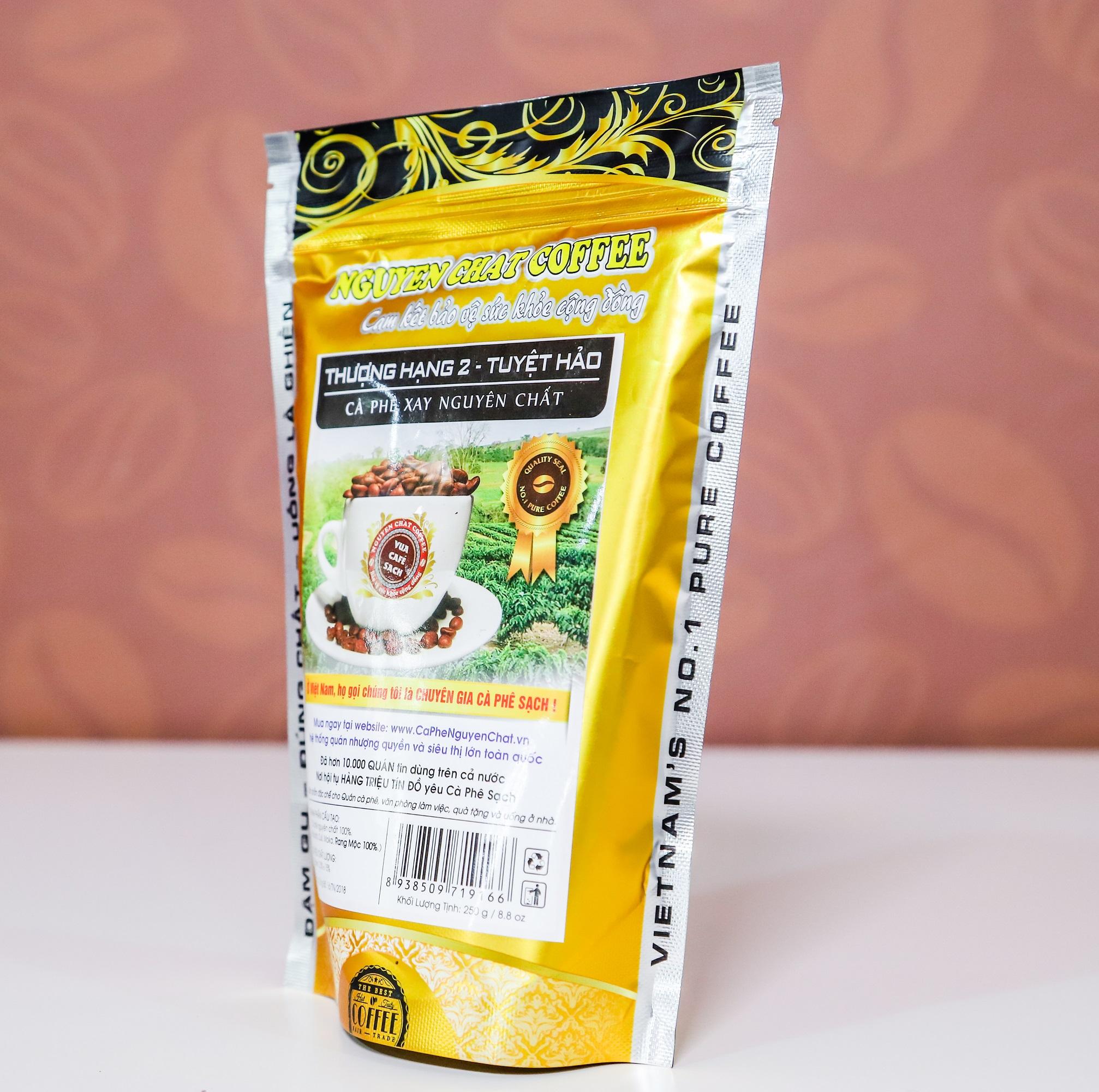 Cà phê xay nguyên chất Thượng Hạng 2