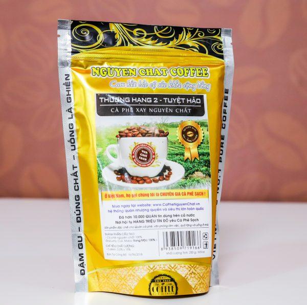 Bột cà phê nguyên chất Thượng Hạng 2 (Tuyệt hảo)