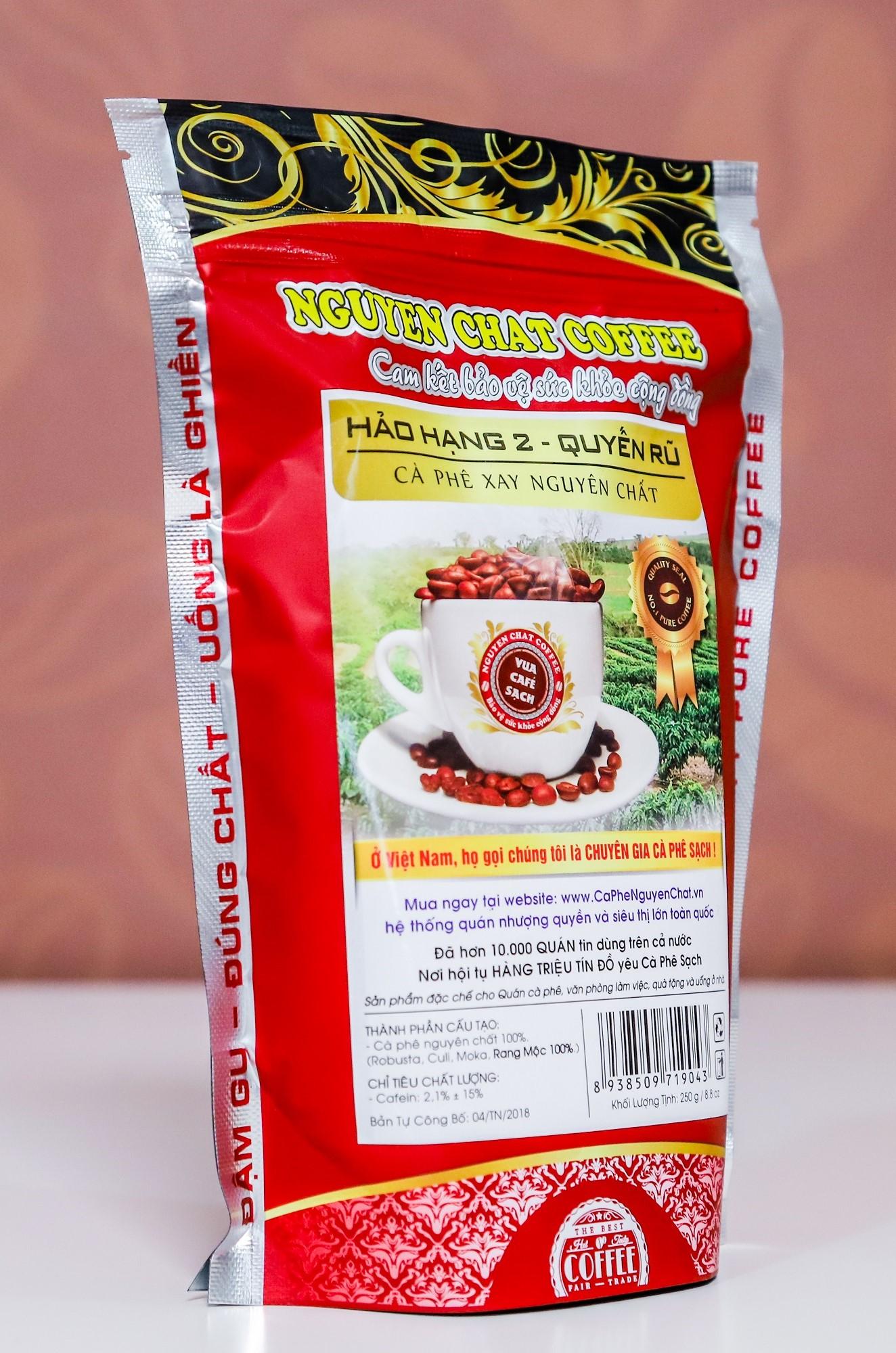 Cafe bột nguyên chất Nguyen Chat Coffee