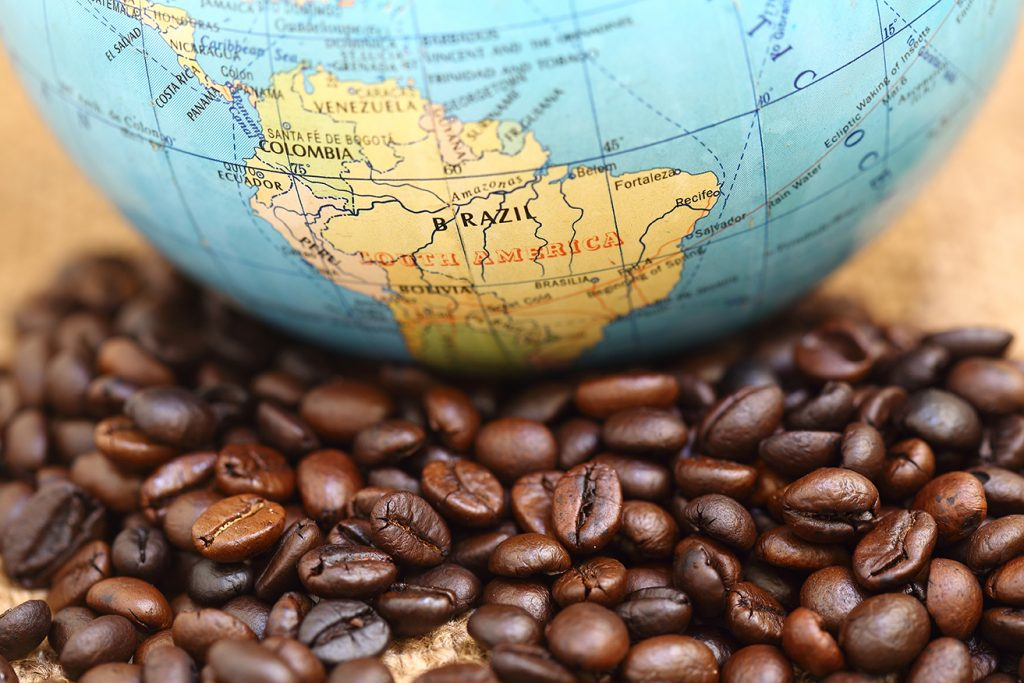 Giá cafe hạt hôm nay trên thị trường