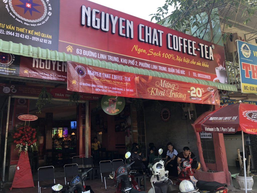 Nhượng quyền cafe mô hình Cà Phê Sạch