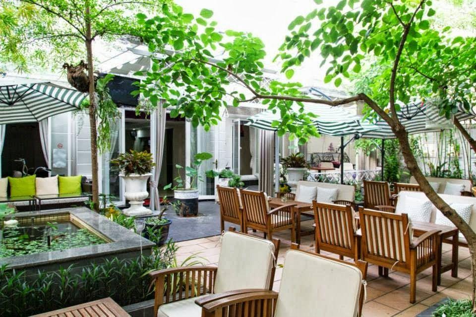 Quán cà phê sân vườn