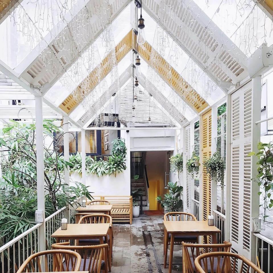 Chọn quán cà phê có không gian đẹp, thoáng