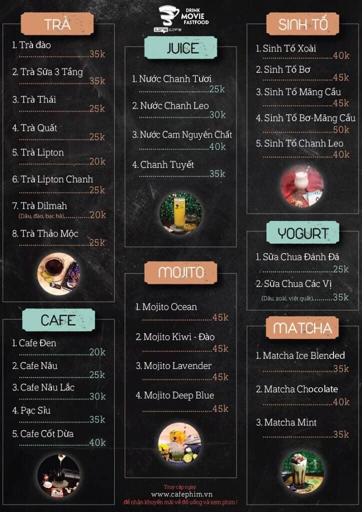 Cách để thiết kế menu quán cà phê thông minh, tạo ấn tượng ngay từ cái nhìn đầu tiên