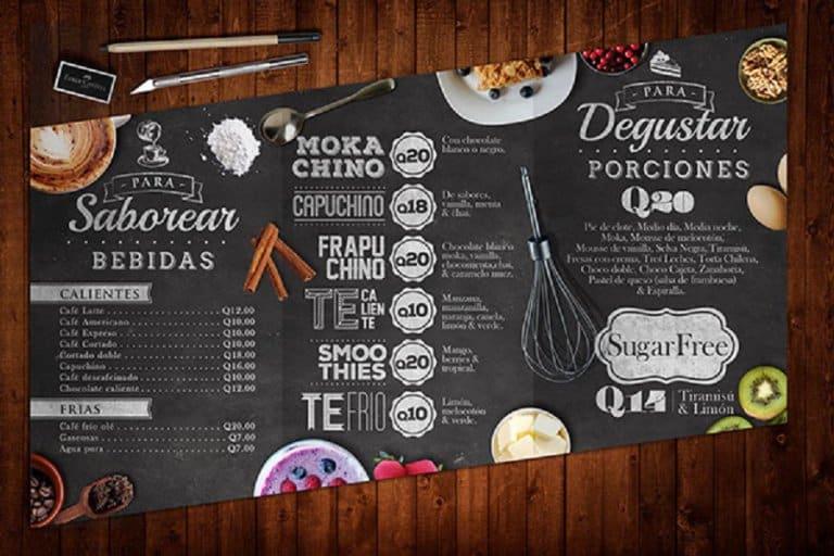 Cách để thiết kế menu quán cà phê thông minh, thể hiện phong cách quán của bạn